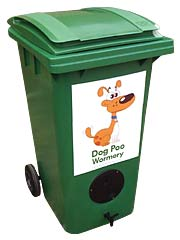 Dog Poo wormery